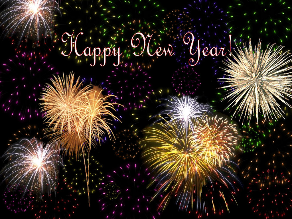 Welcome 2015 fireworks display and celebration of new year backgrounds kristyandbryce Images