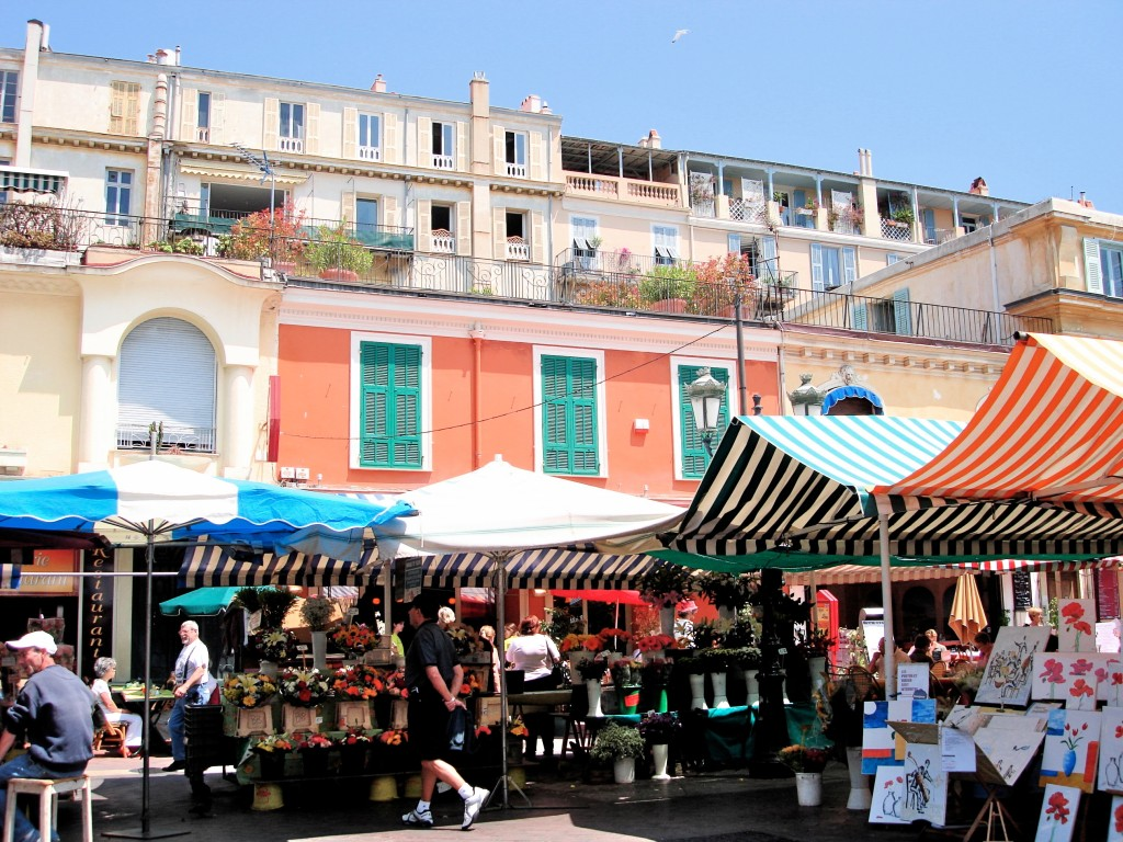Daily market, Nice, France ~ PSandsPhotos
