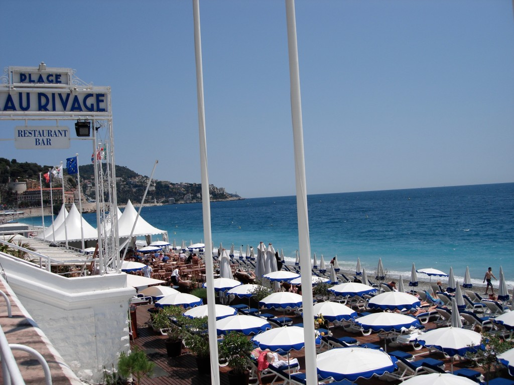 Plage Beau Rivage ~ Nice, France ~ PSandsPhotos