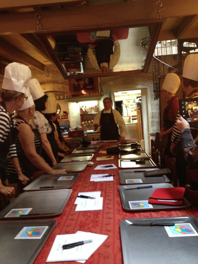 Avignon - Le Jardin de la Tour cooking class