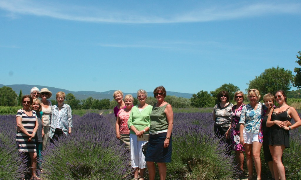 Womens Travel Network tour based on The Promise of Provence by Patricia Sands