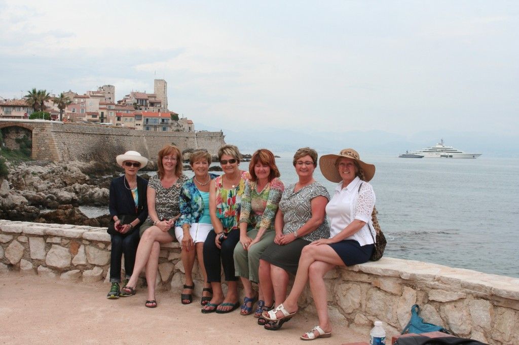 Antibes ~ WTN tour based on The Promise of Provence by Patricia Sands