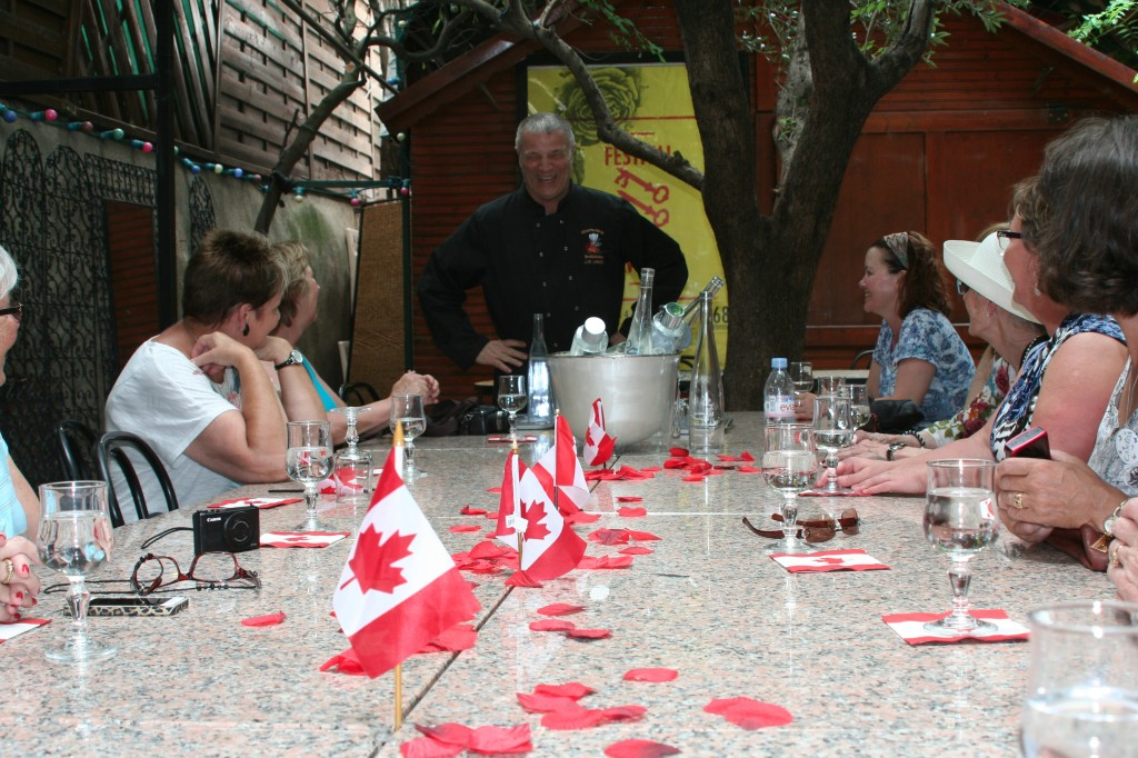Canada Day - Le Jardin de la Tour cooking class, Avignon