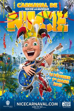 Photo credit ~ Carnaval de Nice 2015 official program