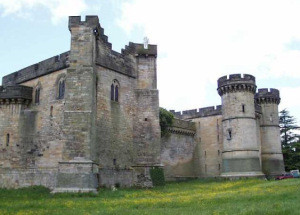 What I got: 1000+ year old actual castle, third tower on the left