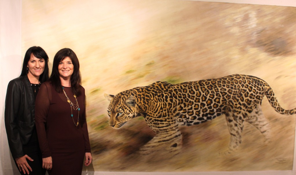 2 Girls and a Leopard - Copy